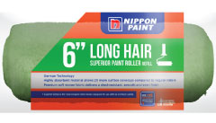 Nippon Paint 6 Long Hair Roller Sleeve Green