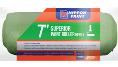 Nippon Paint 7 Long Hair Roller Sleeve Green