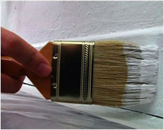 Painting Skirting Boards - Step 1