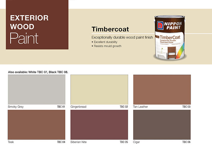 Outdoor Wood Paint Colour Chart Outdoor Designs