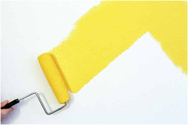 yellow-paint